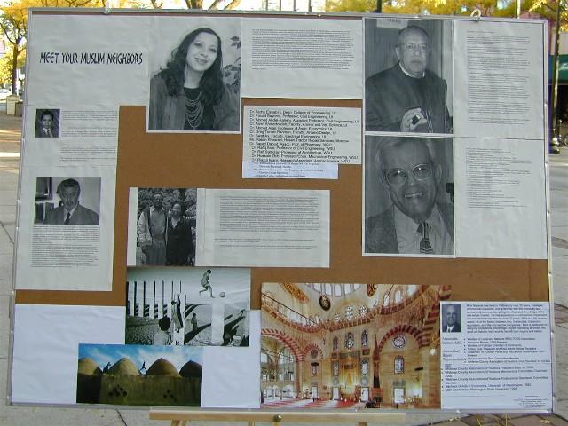 Poster display '08