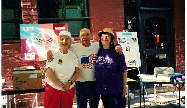 Carla Kapler, Alan Rose, and Joann Muneta
